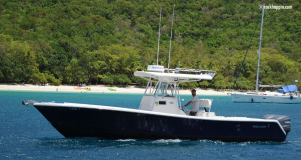 Rockhoppin Powerboat Charters, St. John, USVI